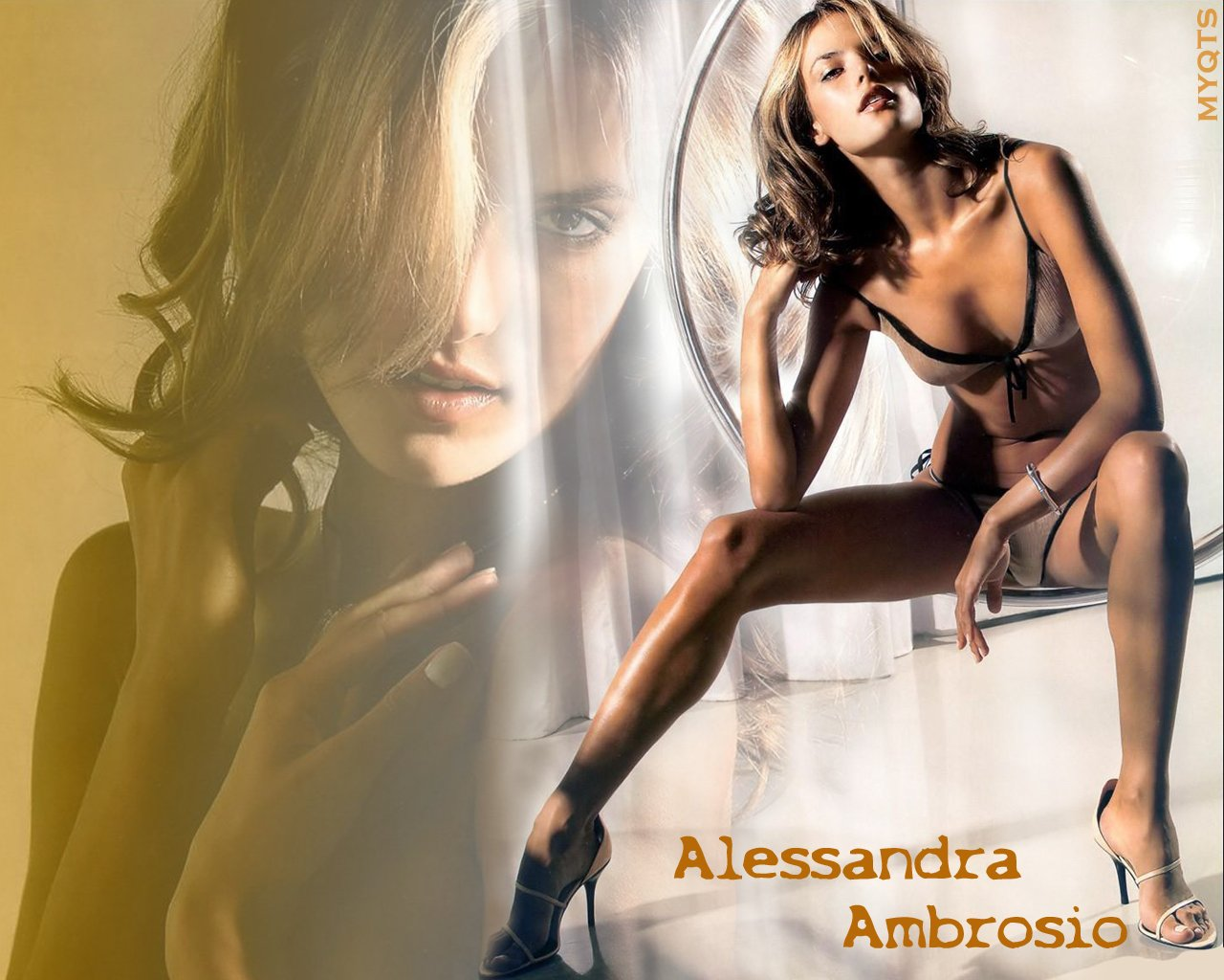 ambrosio Hot Supermodels Lingerie Models