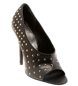Givenchy black studded shoes