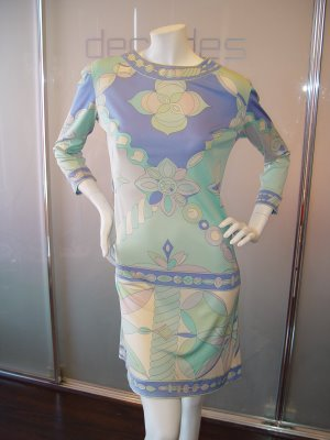 Emilio Pucci pastel dress from 1960